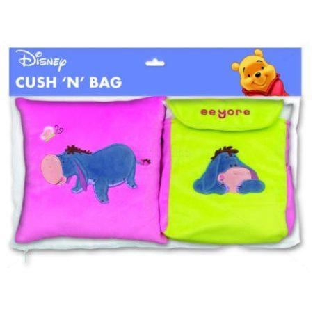 MALACKA párna-hátizsák szett-plüssös