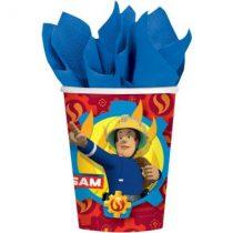 Sam a tűzoltó party pohár