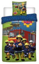 Gyerek ágyneműhuzat Fireman Sam, Sam a tűzoltó 100×135cm, 40×60 cm