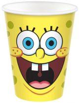 Spongyabob party pohár