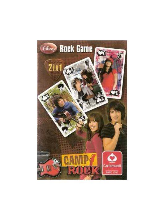 CAMP ROCK KÁRTYA 2 IN 1