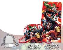 Avengers Törölköző + Tornazsák szett