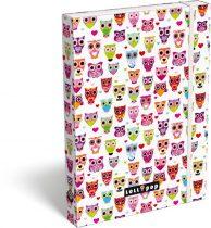 Füzetbox A4, Lollipop, White Owl