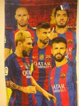 Barcelona csapatos fürdőlepedő