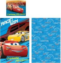 c61ee3a1a5 Gyerek ágyneműhuzat Disney Cars, Verdák 90×140cm, 40×55 cm