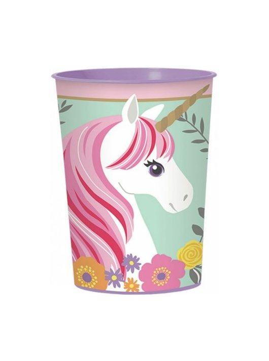 Unicorn, Unikornis pohár, műanyag