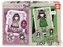 Educa 2 x 500 db-os puzzle - Santoro Gorjuss - Sugar & Spice and The Scarf