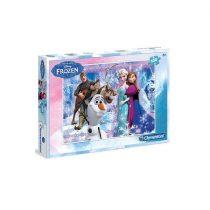 Jégvarázs: Anna és Elsa 100db-os Puzzle - kétféle mintával