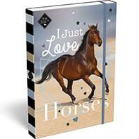 Pony Love füzetbox - A5 - rózsaszín
