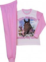 Lovas lány pizsama