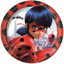 Miraculous Ladybug Papírtányér 8 db-os 23 cm