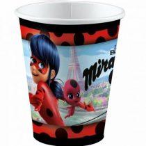 Miraculous Ladybug papír pohár 8 db-os 250 ml