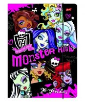 Monster High gumis A/4-es dosszié