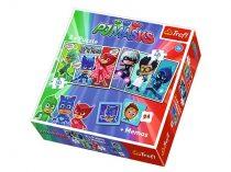 Pizsihősök 2 az 1-ben puzzle és memóriajáték szett - Trefl