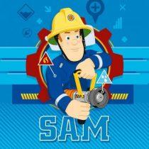 Sam a tűzoltó mágikus arctörlő