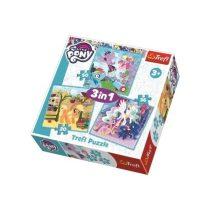 Trefl 2 az 1-ben puzzle és memóriajáték - My Little Pony