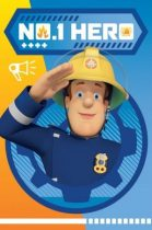 Polár takaró Fireman Sam, Sam a tűzoltó 100*150cm
