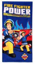 Sam a tűzoltó kék fürdőlepedő