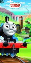 Thomas a gőzmozdony fürdőlepedő