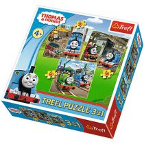 Thomas és barátai – puzzle 3in1 – Trefl