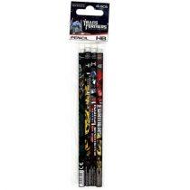 Transformers HB grafit ceruza radírral - 4 db-os