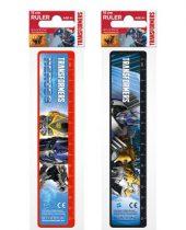 Transzformers vonalzó 15 cm