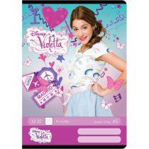 Violetta A5 méretű 32 lapos füzet